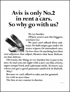 More great branding from Avis.
